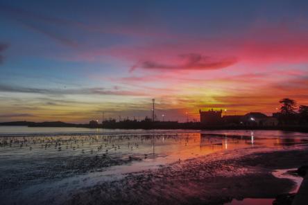 Sunset Essaouira Morocco