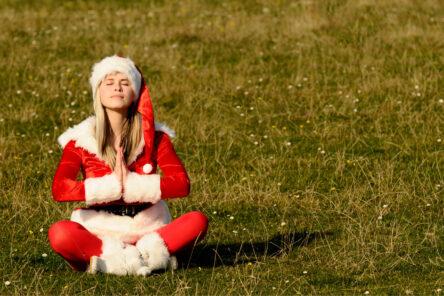 yoga christmas