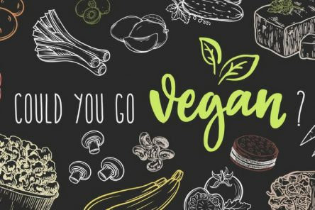 could you go vegan image