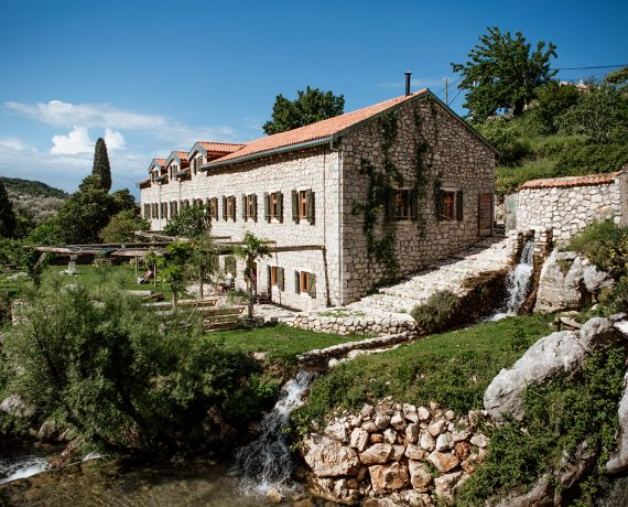 olive mill venue and garden - yoga holiday montenegro