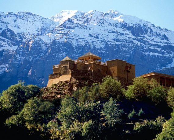 The Kasbah accommodation hiking yoga atlas mountains morocco