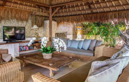 Seating area Nusa Lembongan Villa