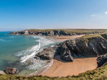 Cornwall beach view