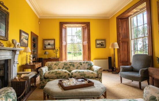 Sunny Sitting Room at Tresillian House
